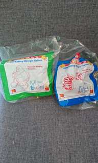 Mcdonald happy meal toys - 2000sydney olympic gamed