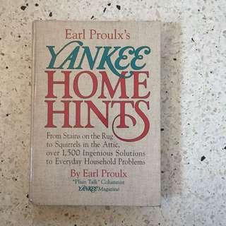 Yankee Home Hints