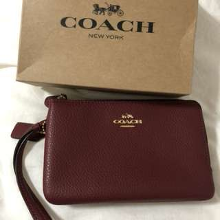 100%real & new!!Coach 手拿包