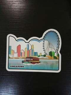 Singapore Landmark Postcards