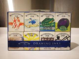 Windsor & Newton Drawing Inks Set of 8