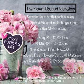 Flower Bouquet Arrangement Workshop