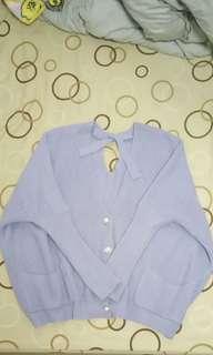 紫色毛衣外套 購買任一商品可贈送