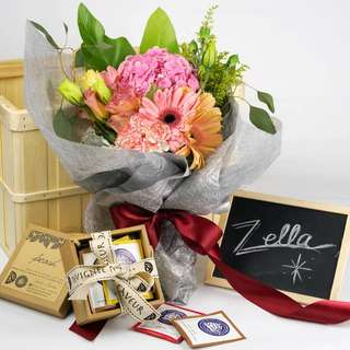 Mother's Day ZELLA flower & tea set
