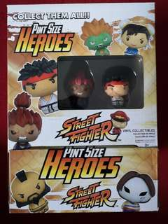 Pint Size Heroes Street Fighter 12 figures complete
