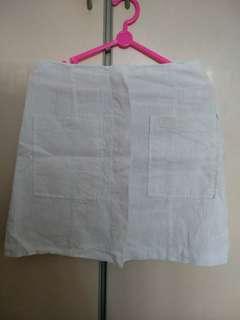 bongbly white skirt