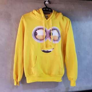 Authentic Haho Minion Hoodie (Yellow)