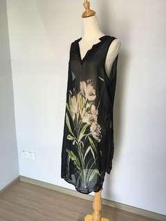 F21 Coverup chiffon dress