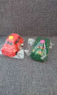 Mcdoanld toys - wind-up cars