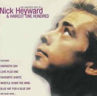 """arthcd NICK HEYWARD & HAIRCUT 100 The Greatest Hits CD (plus 12"""" Extended Remix Versions)"""