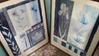 Muriel Verger - Ruby Floral Prints (Set of 2)