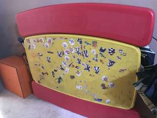 Little tikes foldable bench