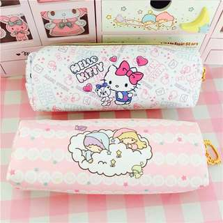 BN Sanrio Characters Waterproof Pencil Case