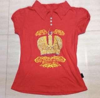 Pink top/polo tee /t shirt