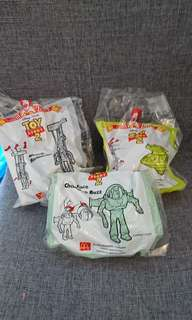 McDonald happy meal toy - toystory yr1999