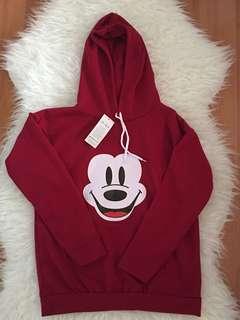 mickey hoodie top