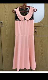 Clearance! Pink Dress RM10 only!