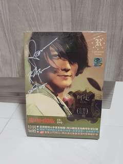 Autographed Album 梵谷的左耳 by 阿沁 Real (F.I.R) CD + DVD
