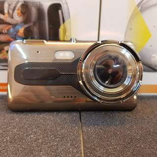 DASH CAM WITH REAR CAMERA AND VOICE RECORDING