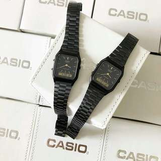 CASIO PETAK DUAL TIME VIRAL LIMITED EDITION