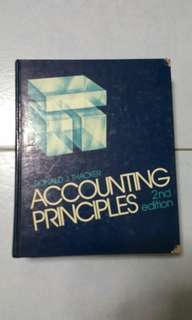 Accounting Principles Book, 2nd Edition