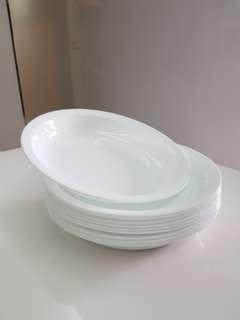 Corelle plates 22cm
