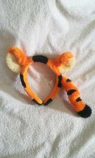 Original Disney Tigger Headband from Winnie the Pooh & Friends