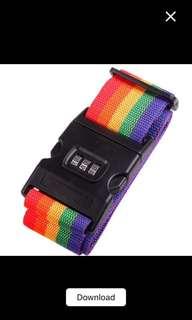 Strap Luggage Rainbow