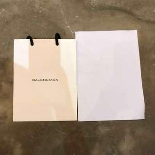 BALENCIAGA 小紙袋