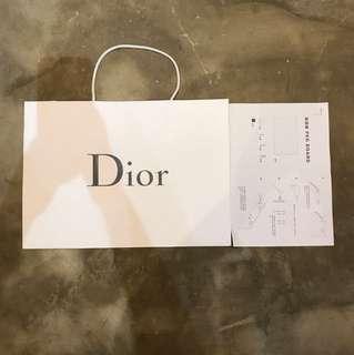 Dior 大紙袋