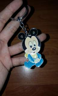 Baby micky mouse keychain