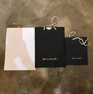 Bvlgari 紙袋