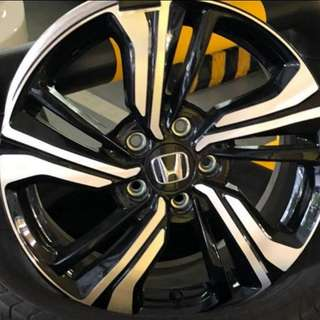 Original Enkei Rims 17""