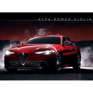 Die Cast 1:24 Alfa Romeo Giulia