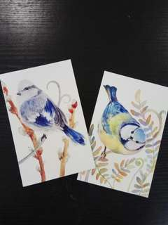 Bird Theme Postcards