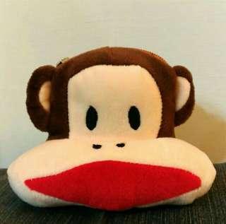 🚚 #五十元好物【Paul Frank】大嘴猴零錢包