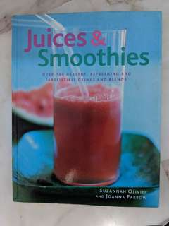 Juice recipe book