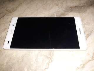 Huawei P8 Lite 4Sale(white) slightly Nego.