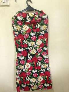 Floral skirt #20under