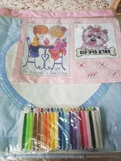 Cross Stitch kit (cushion cover)
