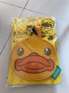B.Duck Coin Case with Card Holder