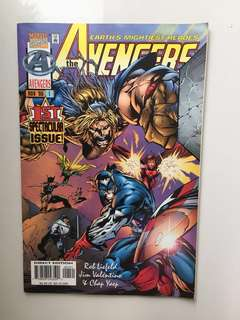 Avengers issue #1 - 1st spectacular issue - free with any purchase of my comic sets