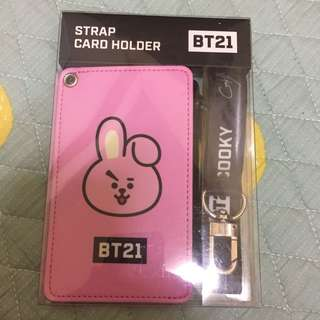 🚚 BT21 x monopoly 卡夾卡套 cooky
