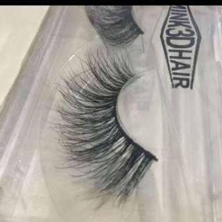 Mink lashes hand crafted