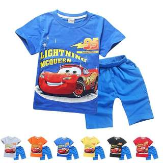 McQueen Car T-shirt set