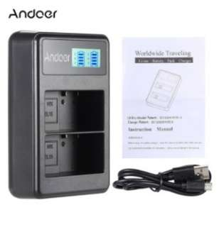 Andoer dual charger