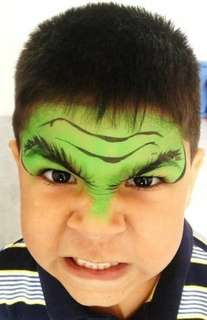 Green Face paint or Body paint