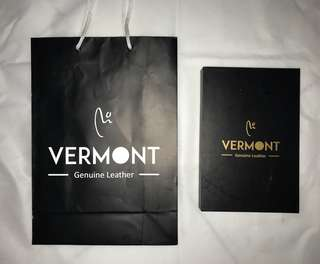 Box and paper bag Vermont