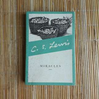 Miracles by CS Lewis (Deckled Edge Edition)