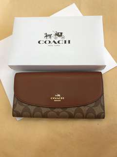 Coach Ladies Wallet Original Coach long Wallet